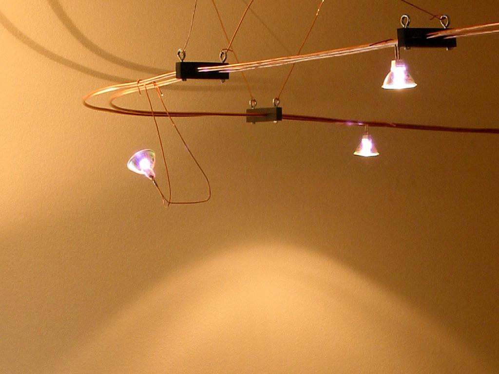 Closeup Of Lights
